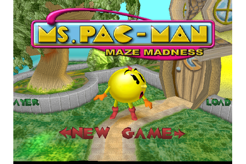 Ms. Pac-Man Maze Madness Screenshots for PlayStation ...