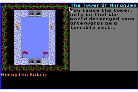 The CRPG Addict: Game 277: The Tower of Myraglen (1987)