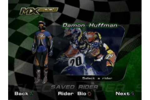 MX 2002 Featuring Ricky Carmichael (PS2 Gameplay) - YouTube