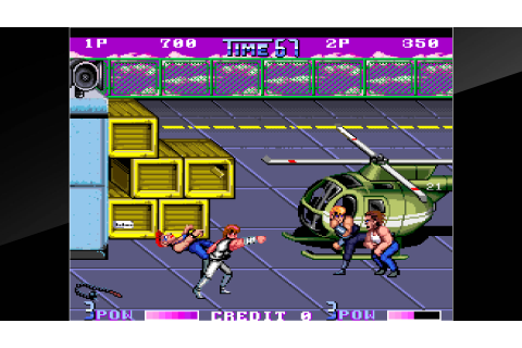 Arcade Archives DOUBLE DRAGON II The Revenge Review ...