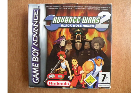 Advance Wars 2 : Black Hole Rising Game Boy Advance ...