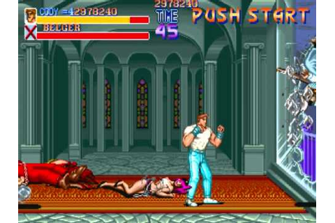 Final Fight Arcade : Final Boss, Cody, Intro and Ending ...