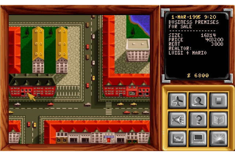 Pizza Tycoon simulation for DOS (1994) - Abandonware DOS