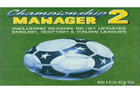 Championship Manager 96/97 gameplay (PC Game, 1996) - YouTube