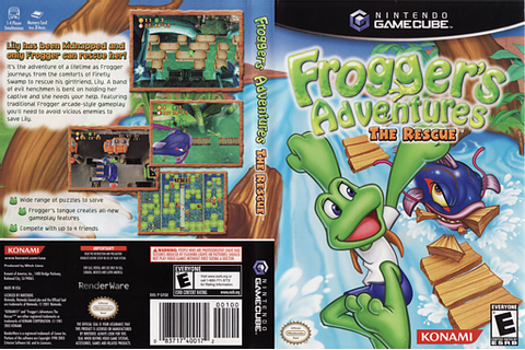 GFQEA4 - Frogger's Adventures: The Rescue