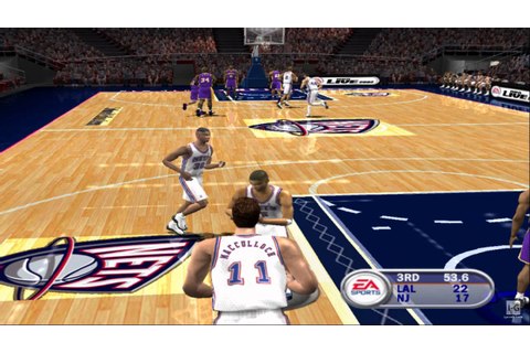 NBA Live 2002 PS2 Gameplay HD - YouTube