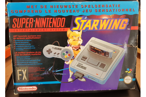 Super Nintendo - Starwing Edition - Super Gaby Games