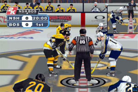 NHL 2K6 PS2 review - DarkZero
