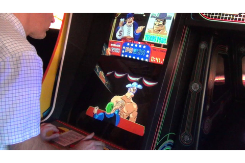Nintendo Arm Wrestling Arcade Game - Real Hardware - YouTube