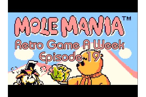 Mole Mania - Retro Game A Week Episode 19 - - YouTube