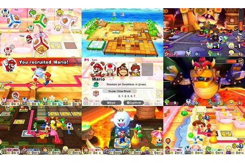 Mario Party Star Rush, a Revitalized 3DS Multiplayer ...