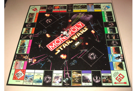 Monopoly Star Wars Limited Edition #41197/8170 Replacement ...