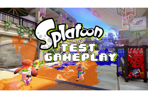 Splatoon Test Gameplay (3 Turf Wars Matches) - YouTube