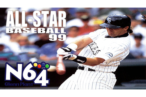 All Star Baseball 99 - Nintendo 64 Review - HD - YouTube