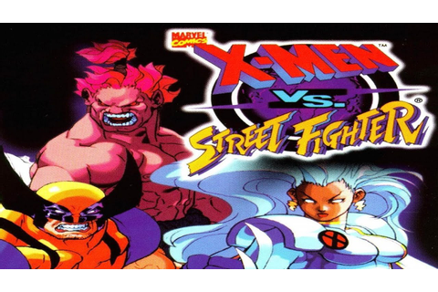 X-Men vs. Street Fighter - Cyclops (Arcade) - YouTube