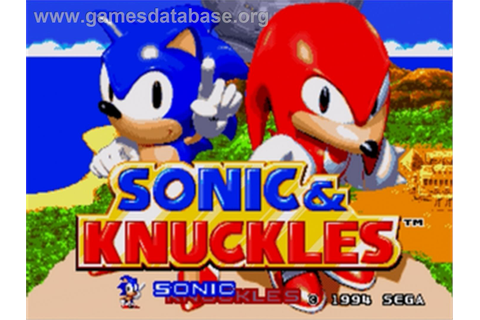 Sonic & Knuckles - Sega Genesis - Games Database