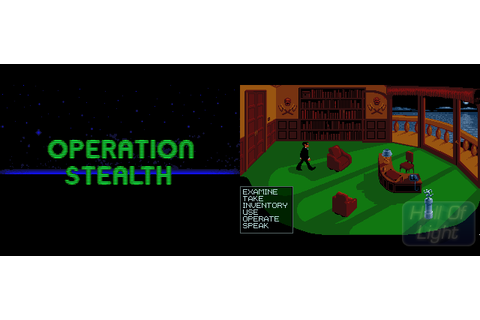 Operation Stealth : Hall Of Light – The database of Amiga ...
