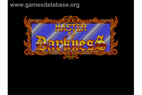 Master of Darkness - Sega Master System - Games Database