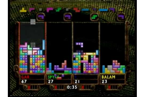 The New Tetris N64 4-Players - YouTube