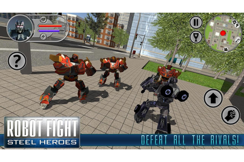 Play Robot Fighting Games | Games World