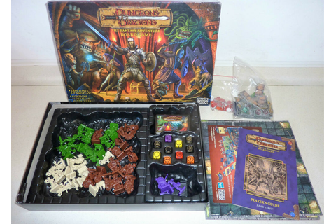 SPARE PARTS DUNGEONS & DRAGONS BOARD GAME FIGURES CARDS ...