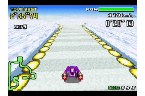 F Zero Maximum Velocity GBA Game Over - YouTube
