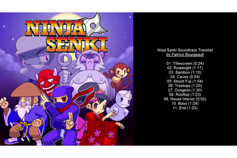Ninja Senki Soundtrack Tracklist - YouTube