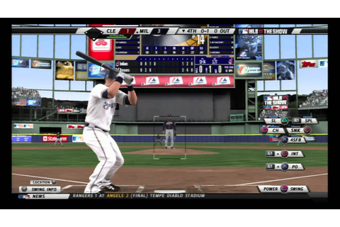 MLB 11 The Show - Online Gameplay (PS3) - YouTube