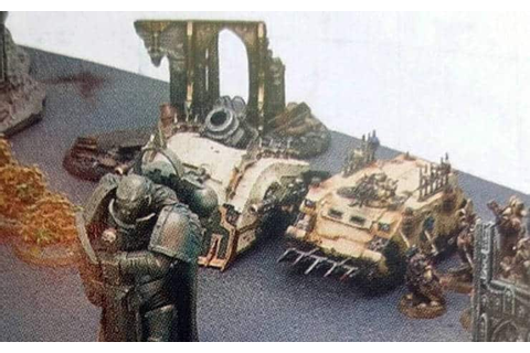 New Death Guard & Primaris Tanks Spotted - Spikey Bits