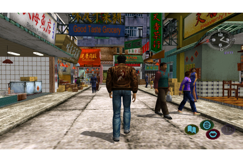 Shenmue II - How to Straighten the Man's Sign Near the ...