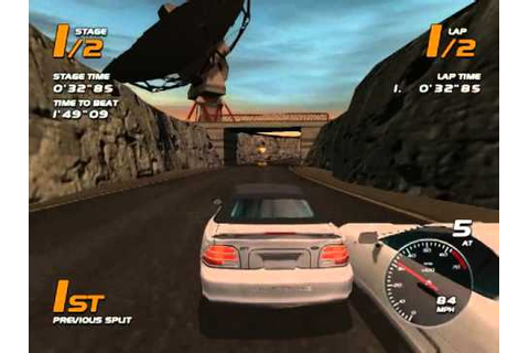 Vanishing Point racing for Dreamcast - YouTube