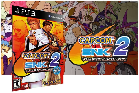 Capcom Vs. Snk 2: Mark Of The Millennium 2001 Ps3 Psn ...