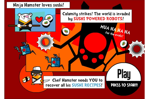 Ninja Hamsters vs Robots Hacked / Cheats - Hacked Online Games