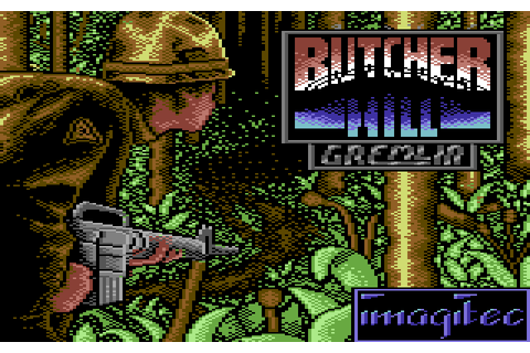 Butcher Hill (1989) by Imagitec Design C64 game