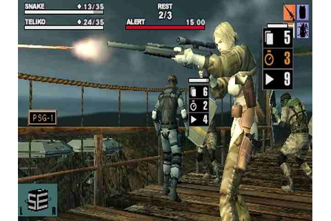 All Metal Gear Acid Screenshots for PSP