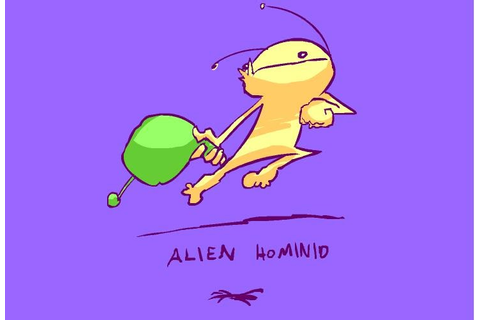 Best Game Wallpaper: Flash Game Alien Hominid