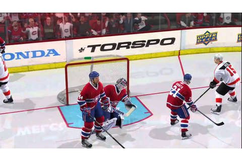 NHL 11 Gameplay Highlights XBOX 360 (Flyers vs Canadiens ...