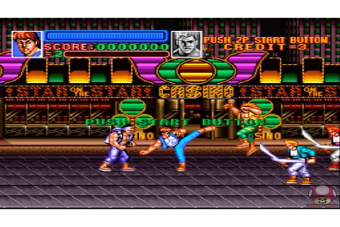 Super Double Dragon (Super Nintendo): Intro - YouTube