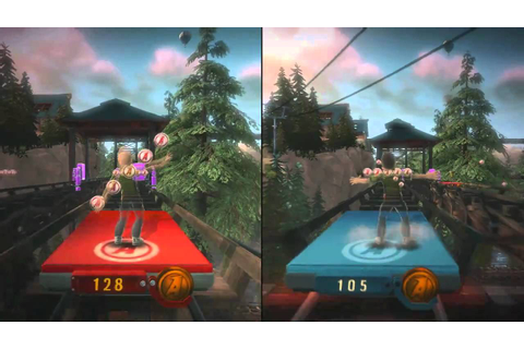 Kinect Adventures (Xbox 360) - Reflex Ridge - 2 Players ...