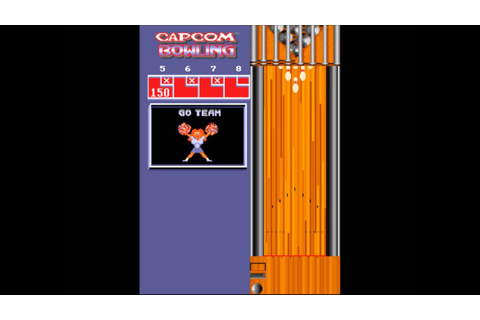 Capcom Bowling (Arcade, MAME) Perfect Game (300) - YouTube
