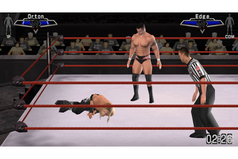 WWE SmackDown vs. Raw 2007 PSP Gameplay HD - YouTube