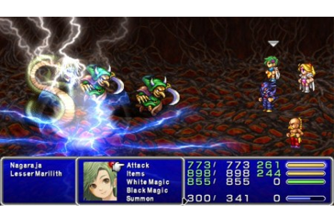 Final Fantasy IV: The Complete Collection Review (PSP ...