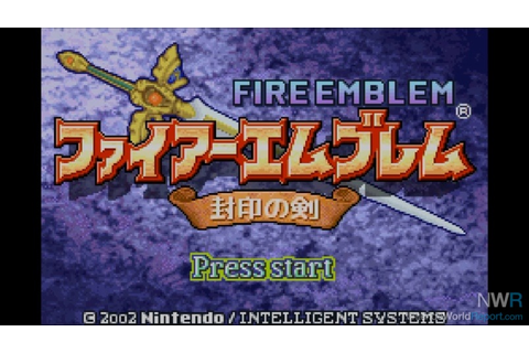 Fire Emblem: Fūin no Tsurugi - Game - Nintendo World Report