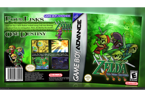 The Legend of Zelda: Four Swords Adventures Game Boy ...