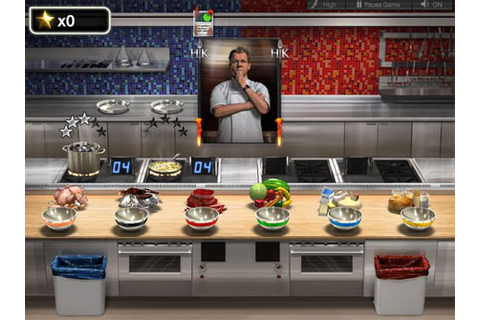Hell's Kitchen Facebook Game
