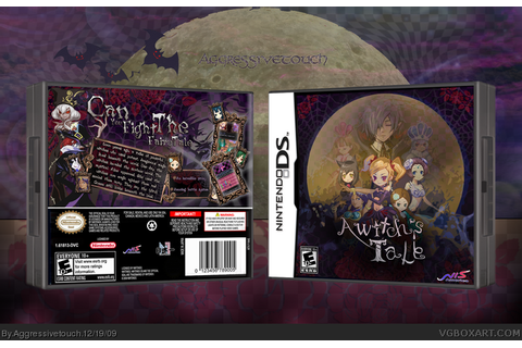 A Witch's Tale Nintendo DS Box Art Cover by Aggressivetouch
