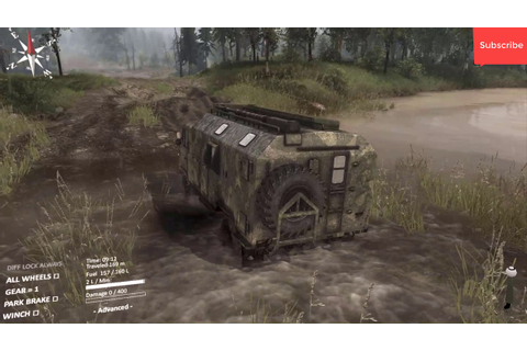 Spintires The Original Game - Gameplay (PC game) - YouTube