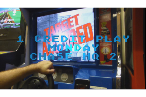 1 Credit Play Monday - Chase H.Q. 2 by Taito - YouTube