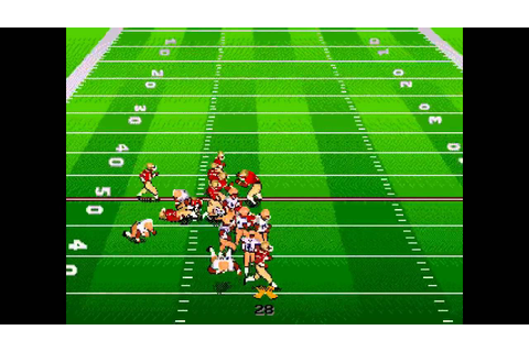 Bill Walsh College Football 95 ... (Sega Genesis) - YouTube