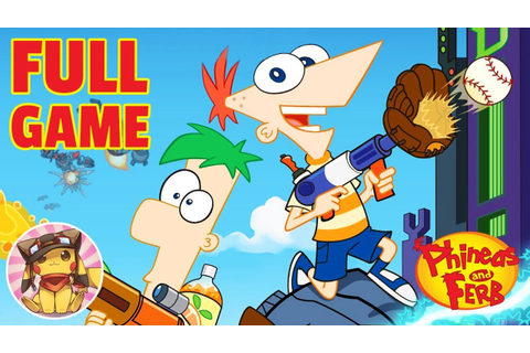 PHINEAS AND FERB Across the 2nd Dimension - FULL GAME ...